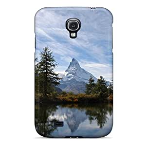 Protective Tpu Cases With Fashion Design For Galaxy S4 (matterhorn Lake)