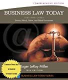 Business Law Today, Comprehensive, Miller, Roger LeRoy, 1305081609