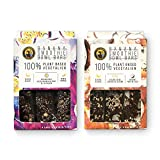 Ipanema Valley Smoothie Bowl Bars - Variety Pack - 2 Pack (8 Bars) Plant Based Gluten Free Healthy Snacks for Adults   Breakfest Bar Alternative