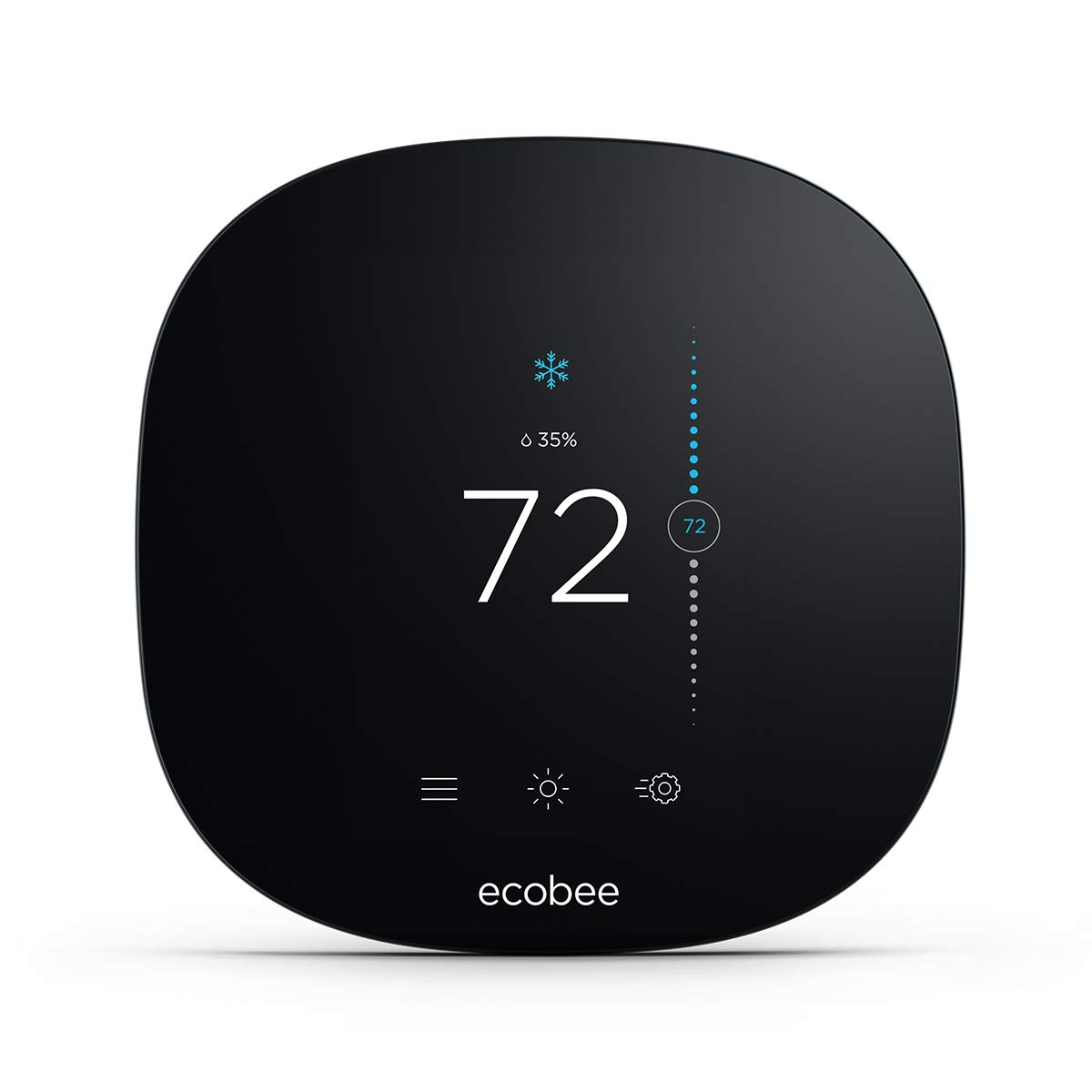 ecobee EB-STATE3LT-02 3 Lite Smart Thermostat Black