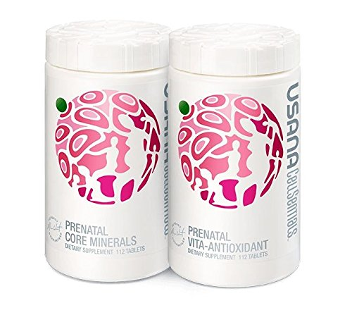 Usana Prenatal CellSentials Vita-Antioxidant and Core Minerals