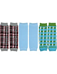 NEWBORN 3 pack of Baby boy or girl leg warmers