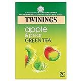 Twinings Green Tea Pear & Apple Flavour Tea Bags (20) For Sale