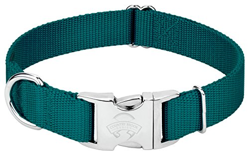Image of Country Brook Petz   Premium Nylon Dog Collar with Metal Buckle (Extra Large, 1