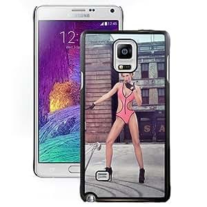 Popular And Unique Designed Case For Samsung Galaxy Note 4 N910A N910T N910P N910V N910R4 With Pink Bikini Blonde Phone Case Cover