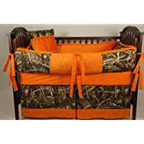 Custom Made Baby Crib Bedding Advantage max 4 camo
