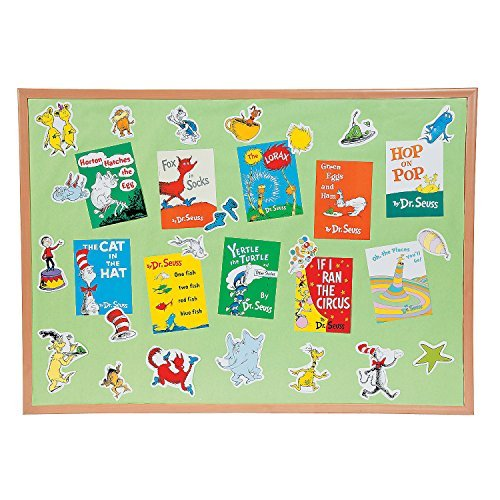 Bulletin Seuss Boards Dr - Dr. Seuss Favorite s Mini Bulletin Board Set