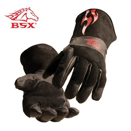 REVCO BSX Stick/MIG Welding Gloves By Revco - Model .: BS50-M Size: M by Revco