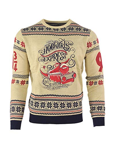NUMSKULL-Harry-Potter-Hogwarts-Express-Sweater-Mixte