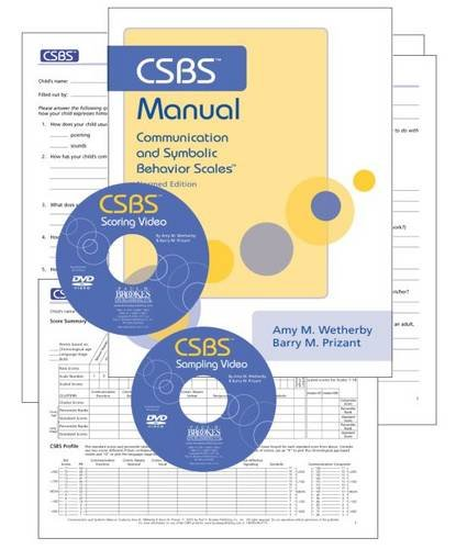 Communication And Symbolic Behaviour Scales The Csbs Kit Without Toy