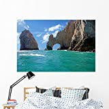 Cabo Arch Wall Mural by Wallmonkeys Peel and Stick Graphic (60 in W x 40 in H) WM241030