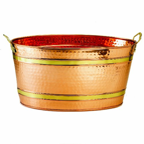 copper wash tub for sale only 3 left at 60. Black Bedroom Furniture Sets. Home Design Ideas