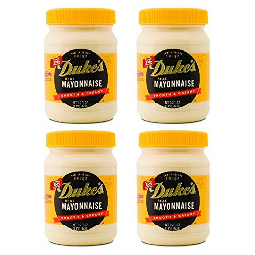 Duke's Real Smooth & Creamy Mayonnaise, 16 oz (Pack of 4) by Duke's Real