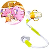 MLMSY Treasure Mother Nursing Assistant Hands Free Baby Bottle Holder Bottle Clamp on Car Seat, Stroller, High Chair and Baby Bed (L-95)