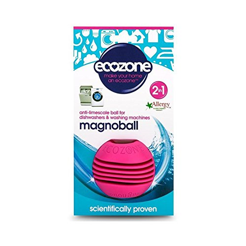 洗濯機&食器洗い機用抗水垢ボール (Ecozone) (x 6) - Ecozone Anti-Limescale Ball for Washing Machine & Dishwasher (Pack of 6) [並行輸入品] B01LYYHT3Z