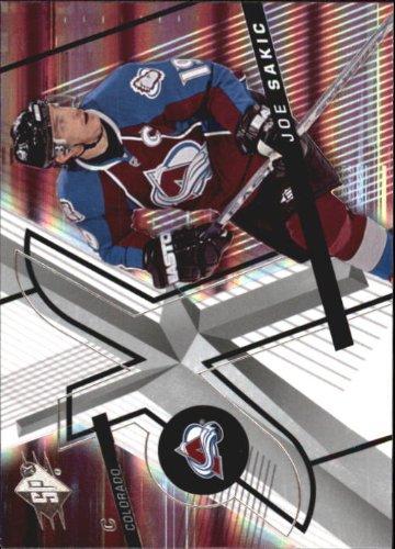2008 SPx Hockey Card (2008-09) #70 Joe Sakic Near (Joe Sakic Hockey)