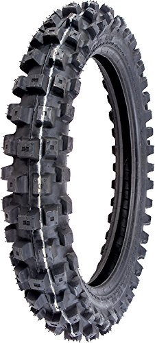 IRC Volcanduro VE33 Tire - Rear - 110/100-17 , Position: Rear, Load Rating: 63, Tire Size: 110/100-17, Rim Size: 17, Speed Rating: M, Tire Type: Offroad, Tire Application: Intermediate T10097