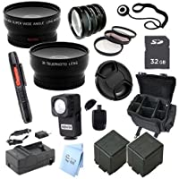 Advanced Professional Kit: for Panasonic HC-X920 UltraFine Full HD Camcorder