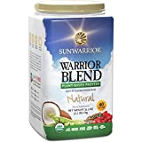 Sunwarrior - Warrior Blend, Raw, Plant-Based Protein, Natural, 40 Servings (2.2 lbs) (FFP)