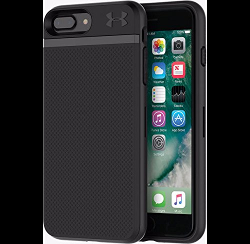 Under Armour UA Protect STASH iphone 7+ PLUS BLACK UAIPH-007-BLK-V