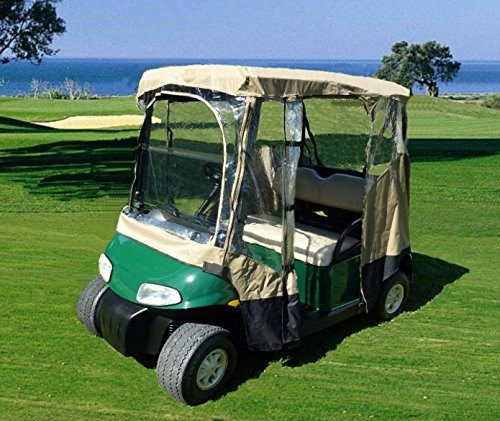 Golf cart driving enclosure 2 - Side Passenger Design