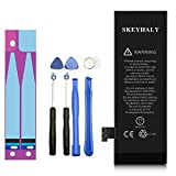 Skeyhaly Battery Model iP 5, With Adhesive & Tools Kit, 1440 mAh 0 Cycle Replacement Battery - 12 Month Warranty