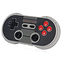 Robolife 8Bitdo NES30 Pro Wireless Bluetooth Gamepad Controller for iOS Android PC Mac Linux