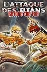 L'Attaque des Titans - Before the Fall, tome 9 par Suzukaze