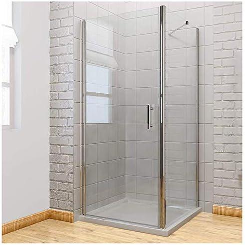 Sin Marco Pivot para mampara de ducha almacenaje 6 mm cristal de ...