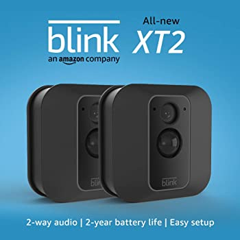 Blink Home Security XT2 Outdoor/Indoor Smart 2-Camera Security System