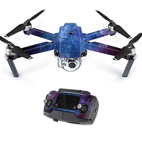 MightySkins Skin for DJI Mavic Pro Quadcopter Drone - Nebula | Protective, Durable, and Unique Vinyl Decal wrap Cover | Easy to Apply, Remove, and Change Styles | Made in The USA