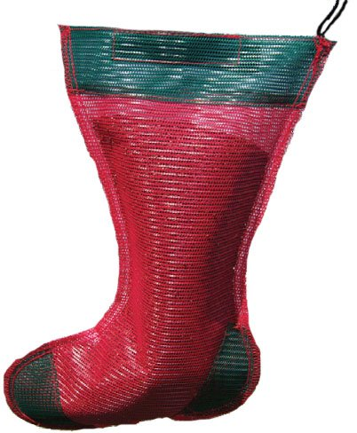 - Songbird Essentials SE656 Green and Red Junior Holiday Thistle Sack (Set of 1)