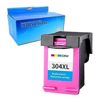 Ouguan - Cartuchos de Tinta remanufacturados HP 304 304L para HP ...