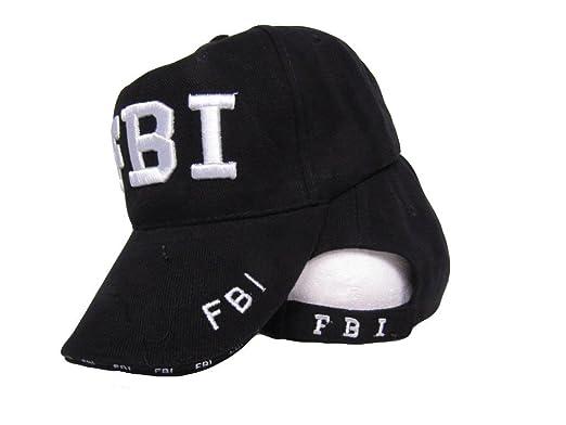 Fbi federal bureau of investigation letters embroidered baseball