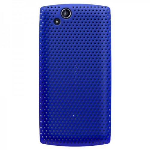 Sony Ericsson Faceplate Cover - Katinkas Hard Cover for Sony Ericsson LT15 Xperia ARC Air - Blue - Face Plate - Retail Packaging