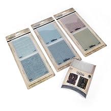 Sizzix 29880 No.1 Tim Holtz Alterations Texture Fades Embossing Folders Kit