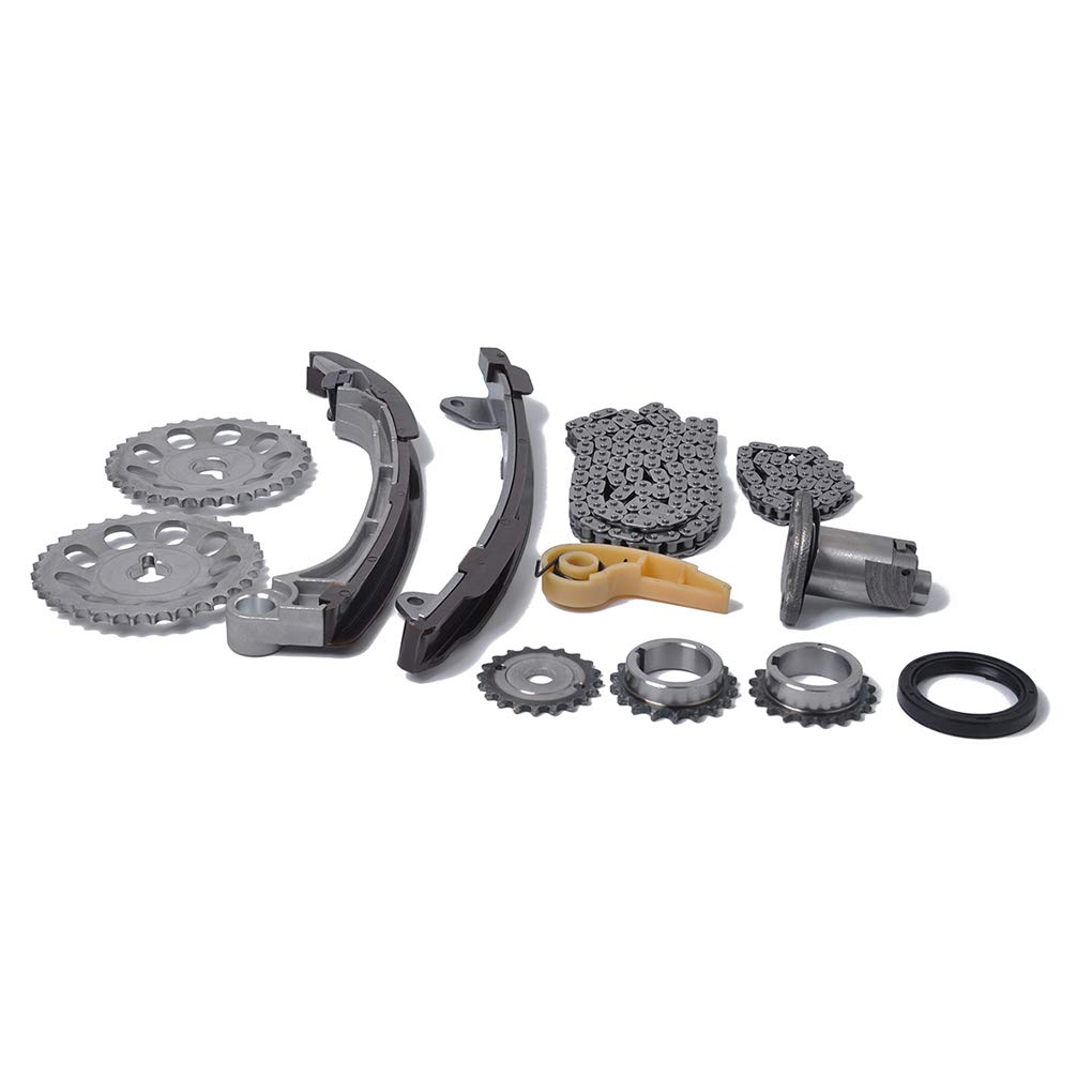 Enlaces 52/134 eslabón de la Cadena de Engranajes de distribución del Kit Compatible para 01-15 Toyota Scion 2.0 2.4 1AZFE 2AZFE 2AZFXEMengonee: Amazon.es: ...