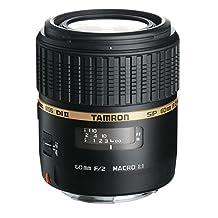 Tamron AF 60mm f/2.0 SP DI II LD IF 1:1 Macro Lens for Canon Digital SLR Cameras (Model G005E)