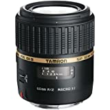 Tamron Auto Focus 60mm f/2.0 SP DI II LD IF 1:1 Macro Lens for Canon Digital SLR Cameras (Model G005E)