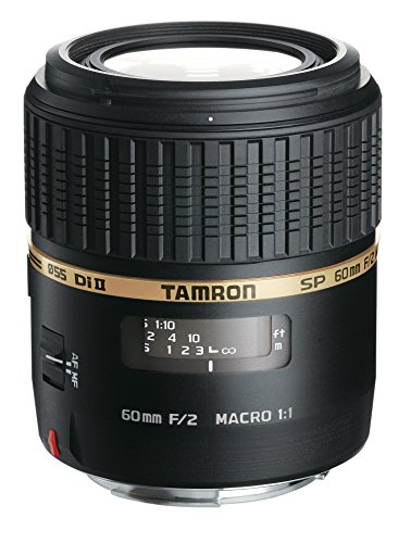Tamron Auto Focus 60mm f/2.0 SP DI II LD IF 1:1 Macro Lens f