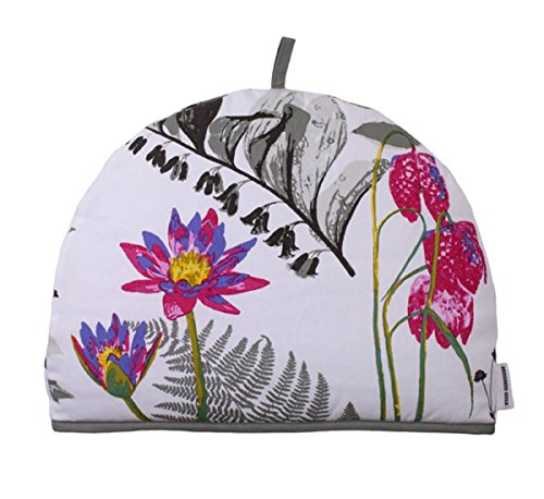 Ulster Weavers Mokuren Graphite Flower Cotton Tea Cozy Cozie by Ulster Weavers