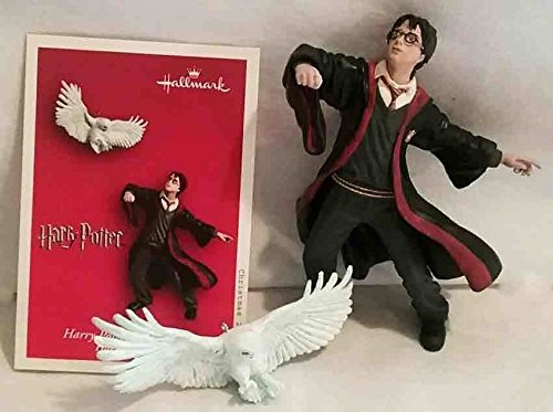 Hallmark 2004 Ornament Harry Potter and Hedwig