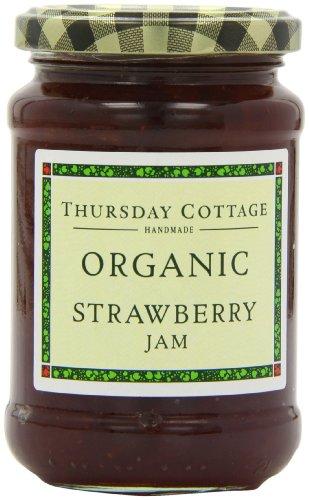 Thursdays Cottage Organic Strawberry Jam 340 G (Pack Of 3) by Thursdays Cottage