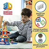 Magformers Basic Set (62-pieces) Magnetic Building