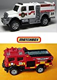 Emergency Response Matchbox Blaze Blitzer & International Workstar Brush Fire Truck 2015