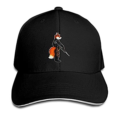 Fenme Fox Animals Unisex Sandwich Caps Cute Snapback Hats Casual Trucker Hats Fashion Snapback Cap