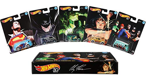 Hot Wheels Alex Ross Limited Edition Collector 5 Pack [Amazon Exclusive] ()