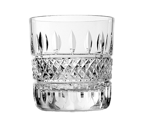 Waterford Irish Lace - Waterford Irish Lace Set of 2 Double Old Fashioned Glasses