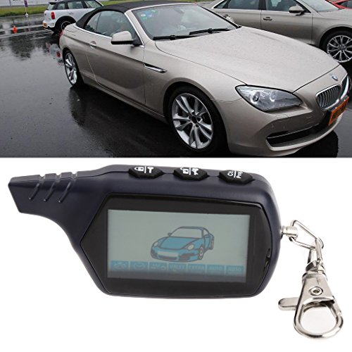 Autoparts B9 Starline LCD Remote Controller For Two Way Car Alarm Keychain Russian Version