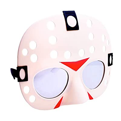 Costume Sunglasses Friday the 13th Sun-Staches Party Favors UV400: Toys & Games